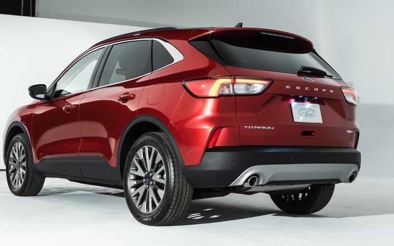 Ford Escape Titanium Hybrid 2020 Ford Escape Ford Sport Utility Vehicle