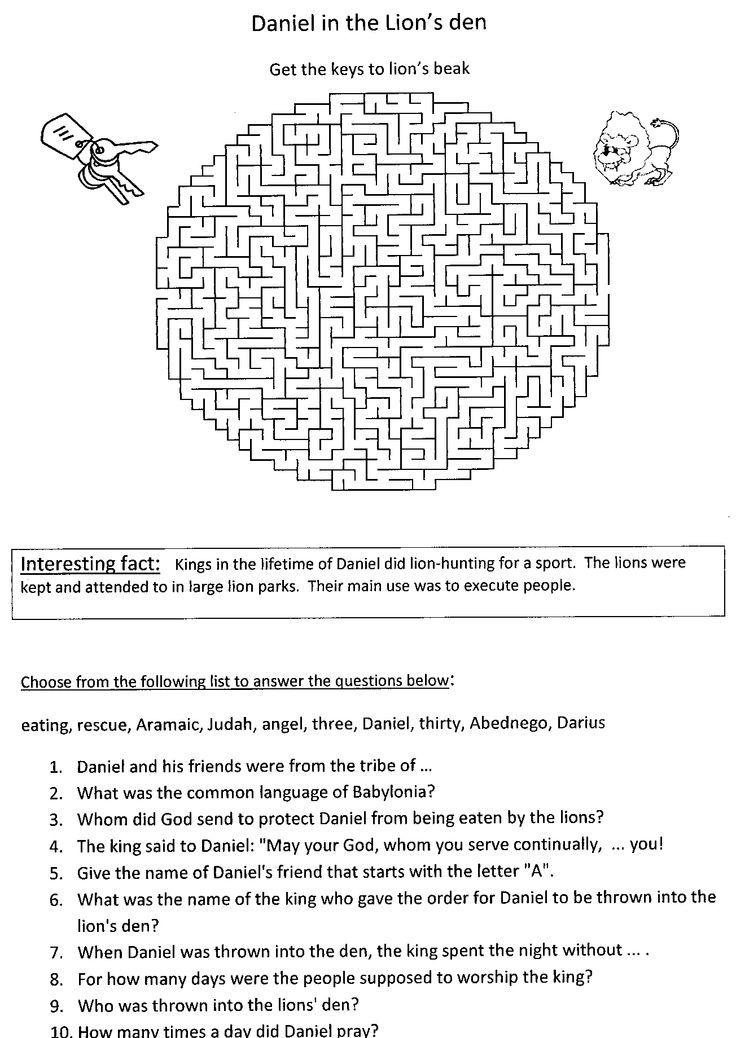 Keptalalat A Kovetkezore Daniel S Story Worksheets 8 9 Years