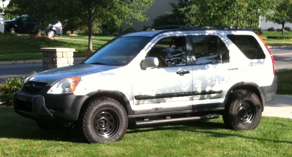 Crv On Mudders With Bull Bar Honda Crv Honda Crv 4x4 Honda Crv Awd