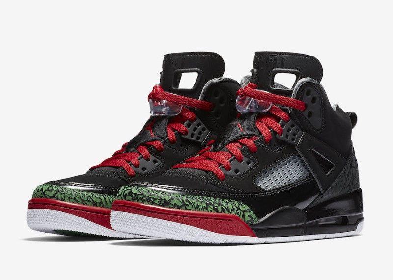 super popular cf477 8ab14 ... reduced air jordan spizike black red green 8786d 5d722