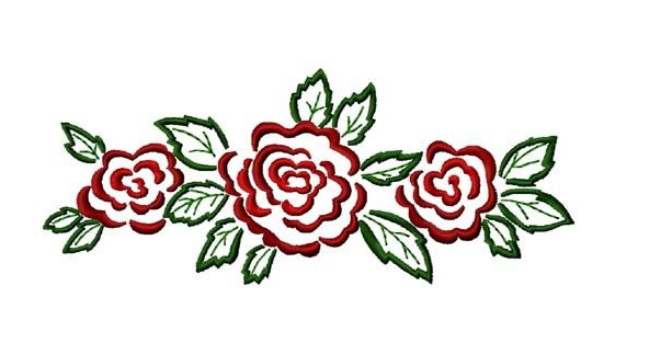 Free Embroidery Design Rose Border Hand Embroidery Designs Free Embroidery Designs Free Embroidery