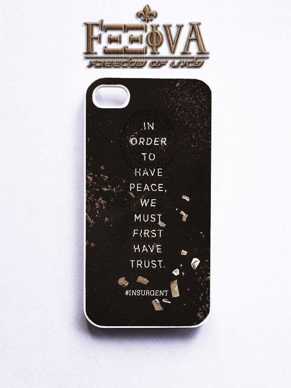 Insurgent Quote Phone Case For iPhone Samsung iPod Sony | Feeiva