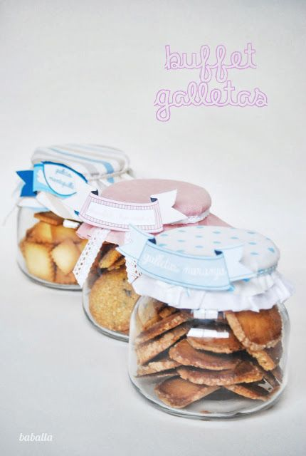 buffet de galletas
