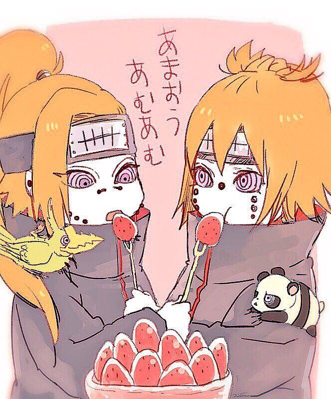 (1) Твиттер   Akatsuki, Chibi, Chikushodo
