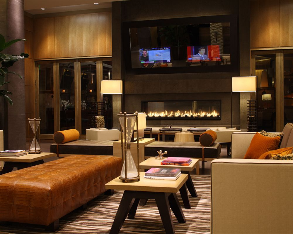 Commercial Electric Fireplace In Lobby - Google