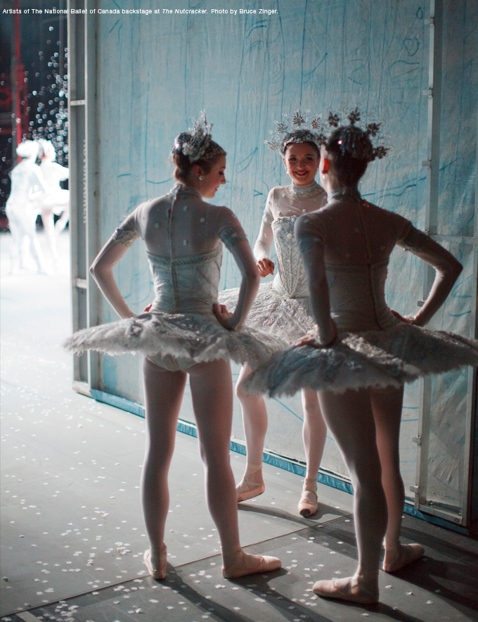 In the Wings Artists of The National Ballet of Canada