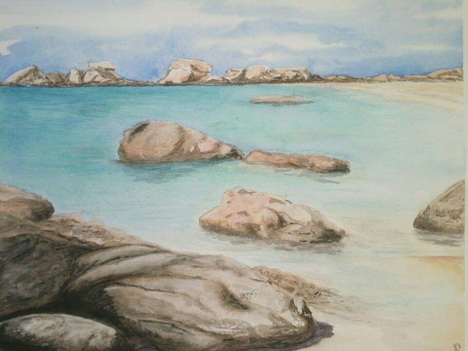 Bretagne aquarelle S. Steibel