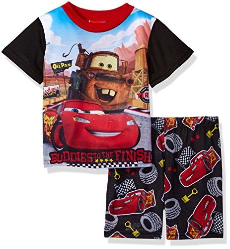 bcdb99455 Disney Little Boys  Cars 2-Piece Pajama Set