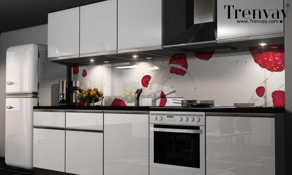 Küchenrückwand selbstklebend ~ Https: www.trenvay.com mutfak tezgah arasi cam panel daday
