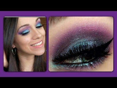 Maquillaje creado por la youtuber RosyMcMichael