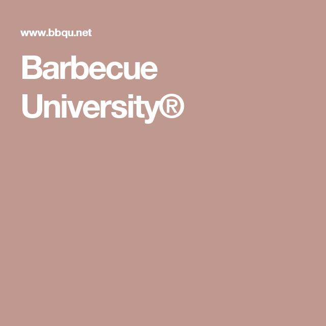 Barbecue University®