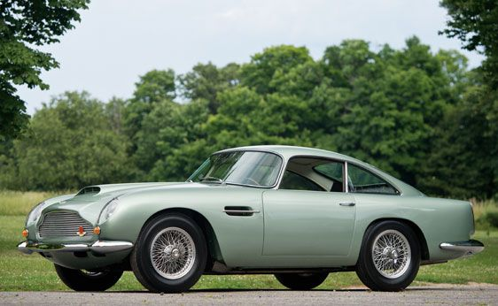 Four classic Aston Martins sold at Monterey auction for a total