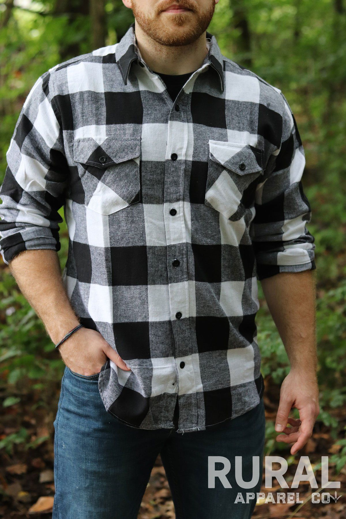 Men S Black White Flannel Shirt Flannel Outfits Men Hipster Mens Fashion Mens Fashion Rugged [ 1800 x 1200 Pixel ]
