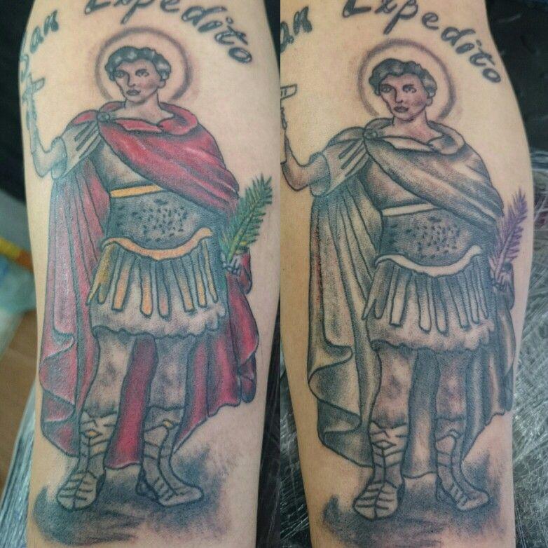 San Expedito Tatuajes Pinterest