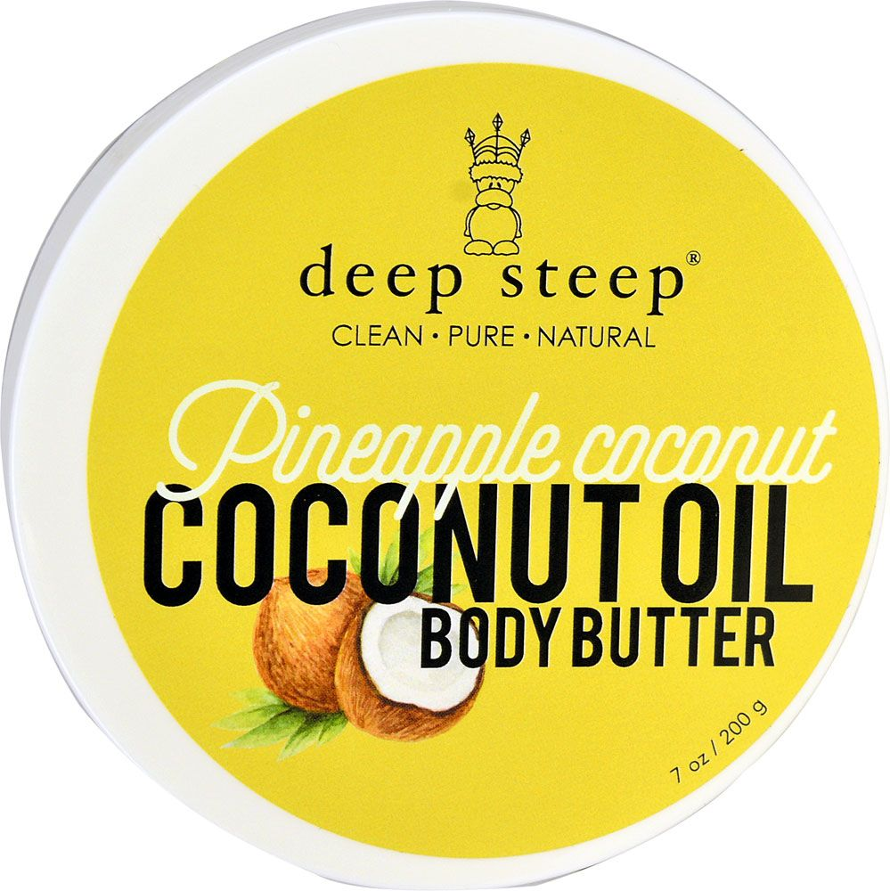 Deep Steep Coconut Oil Body Butter Pineapple Coconut | Products I ...