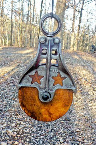 barn pulley