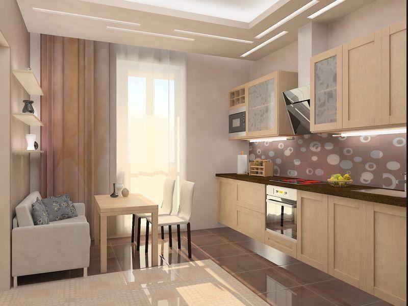 Кухня 12 кв м дизайн фото ремонт своими руками