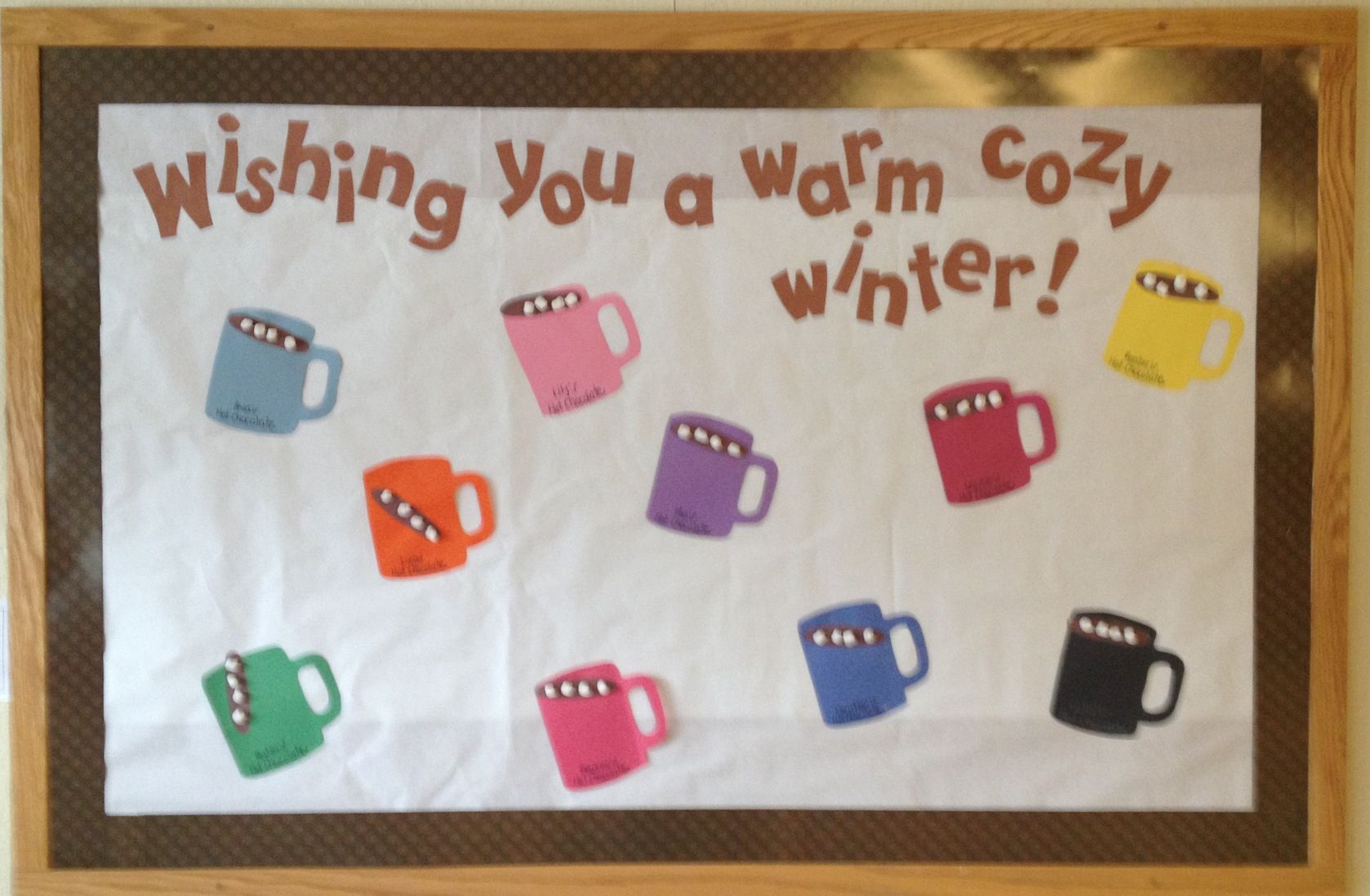 Toddler Classroom January Bulletin Board Boards Bulliten