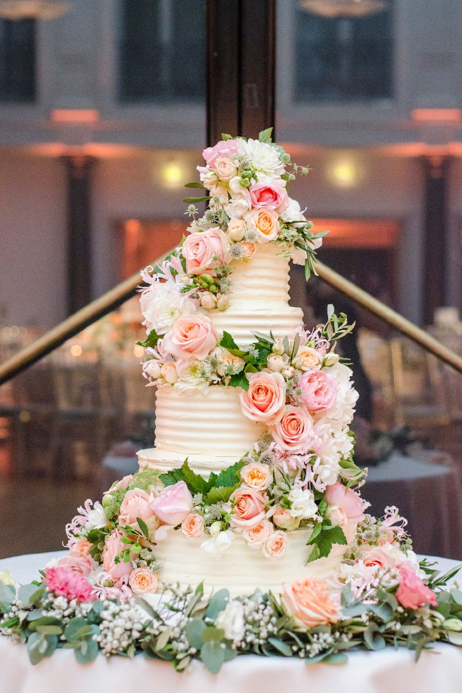 Floral wedding cake synies wedding cake toppers