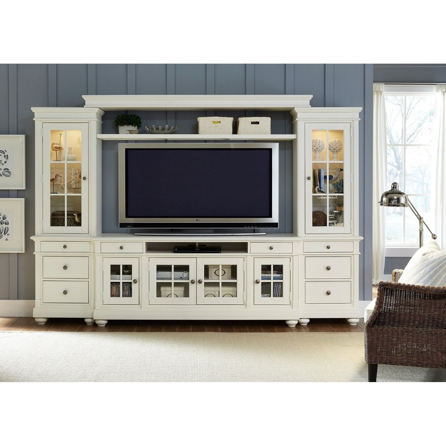 Overstock Com Online Shopping Bedding Furniture Electronics Jewelry Clothing More Paula Deen Furniture Entertainment Wall Units Liberty Furniture