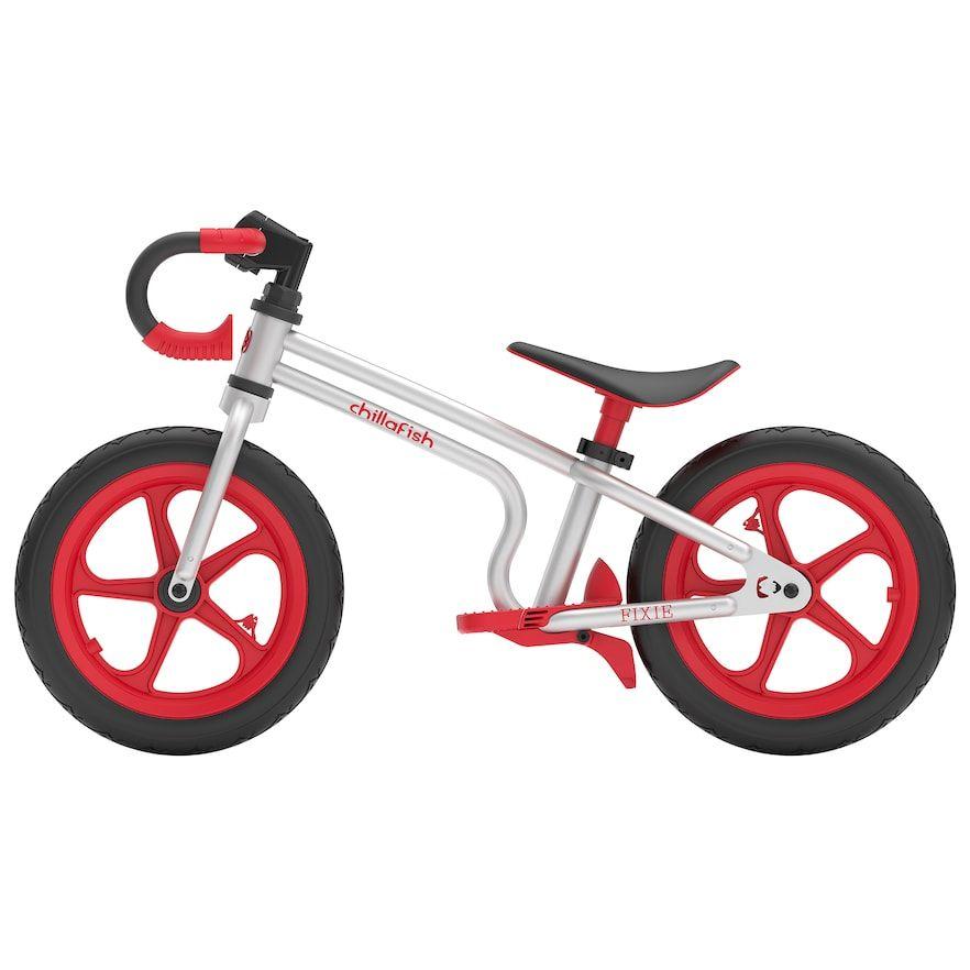 Chillafish Fixie Balance Bike Red Balance Bike Fixed Bike Bicycle