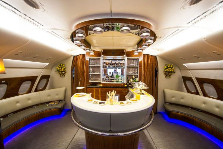 What It S Like To Fly First Class On An Emirates A380 Flying