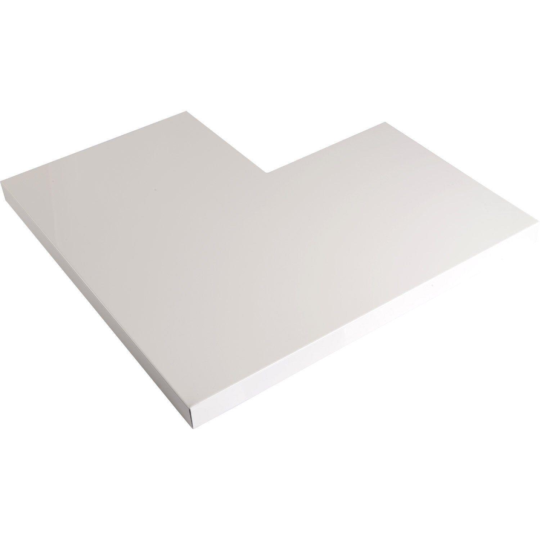 Angle Pour Couvertine Aluminium 30 X 270 Scover Plus Blanc L