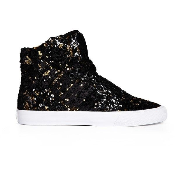 Supra Skytop High Top Sneakers (110 AUD) found on Polyvore