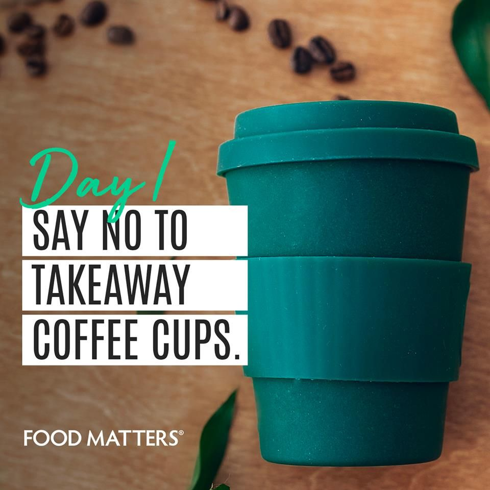 Each day, we'll be posting either a zero waste challenge