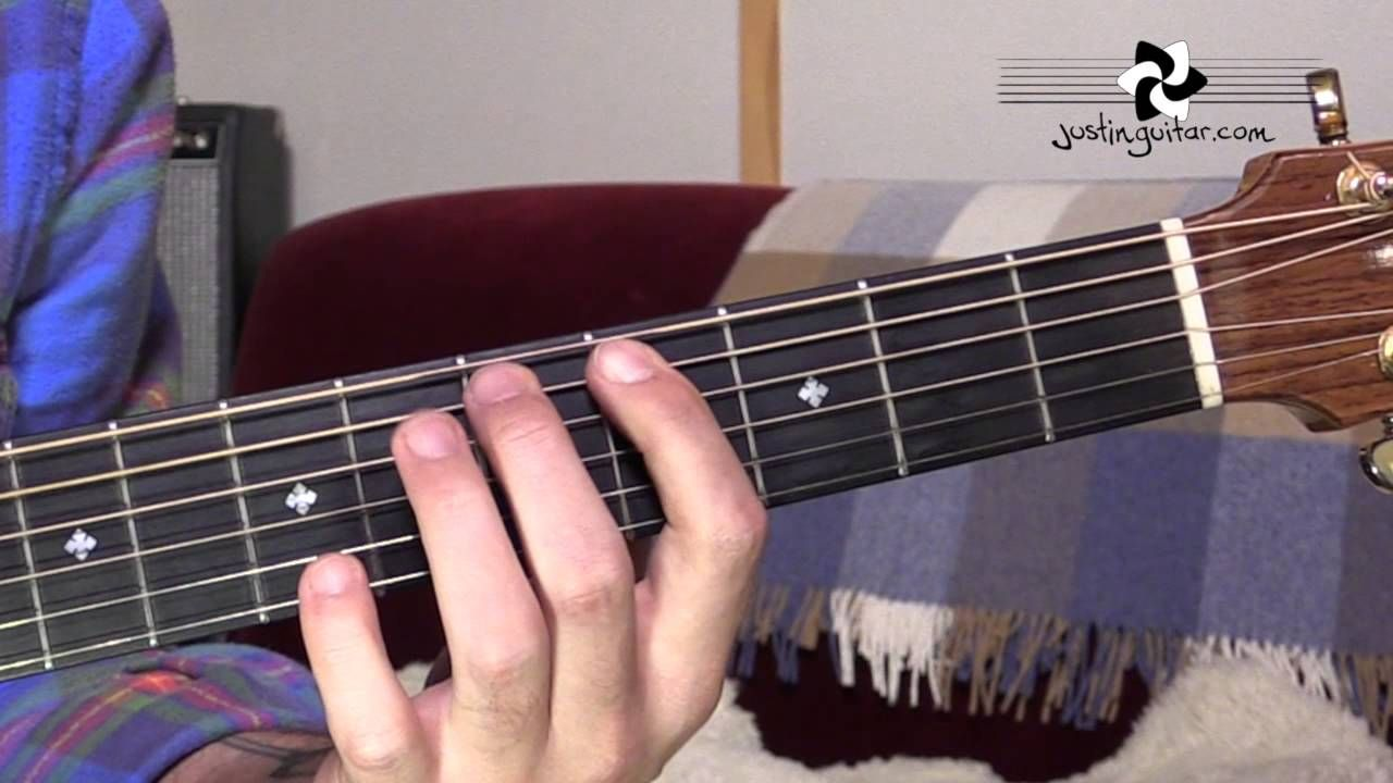 Hey Joe Jimi Hendrix Easy Song Beginner Guitar Lesson Bs 301