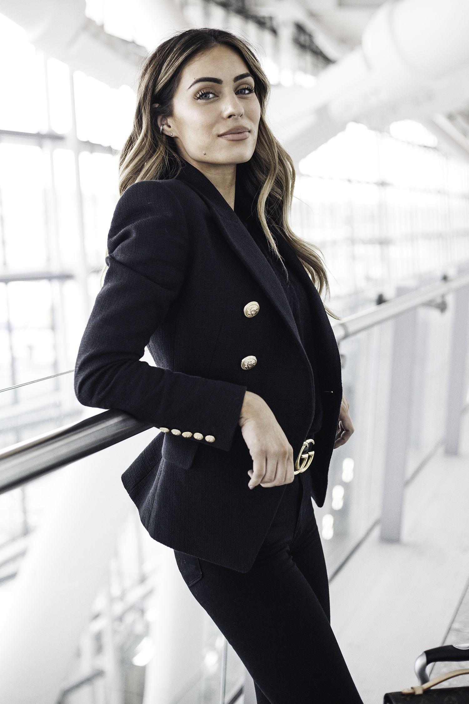 10174f457bc4 Lydia Millen - Heathrow 17 Corporate Fashion
