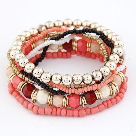 Bohemian Summer Beads Bangles