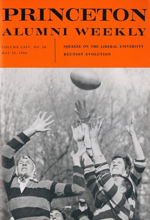 Paw S May 19 1964 Cover Featured This Action Shot Of The Princeton Ruggers In Action Against The New York Rugby Club Rugby Princeton University Ivy League