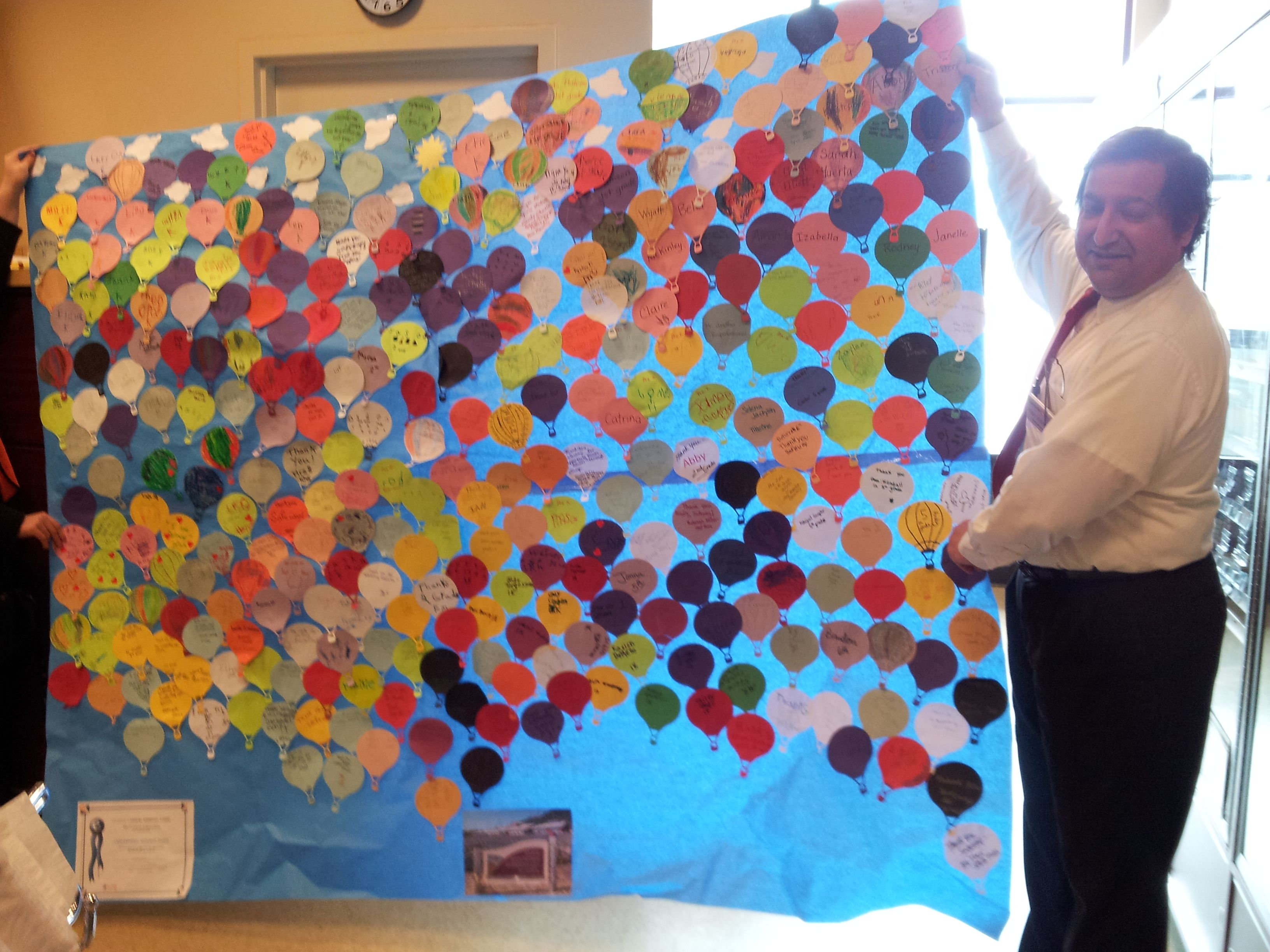 Fawn Mountain Elementary Thanks Their Local Ketchikan Safeway Every Member Of Their School Students And Staff Wrote A Thank You M With Images Thank You Messages Greatful