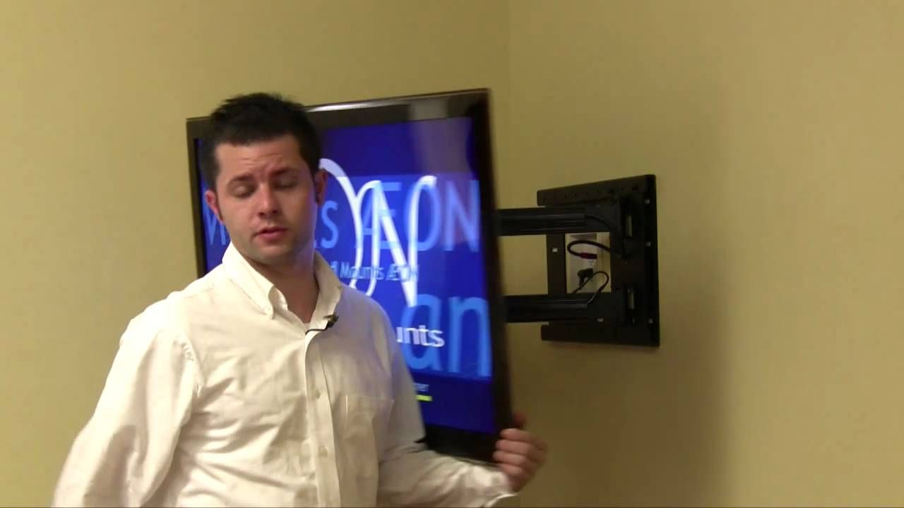 Full Motion Sliding Corner Wall Mount Video This Video Introduces The Features And Quality Of The 1114 Tv Mou Full Motion Tv Wall Mount Wall Mounted Tv Tv Wall