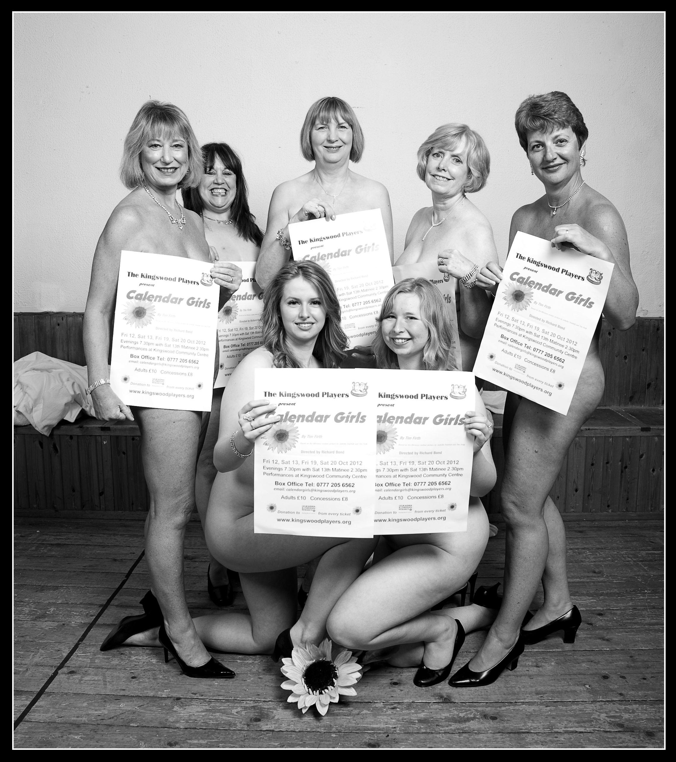 Calendar Girls bare it all - Birdsong Connections