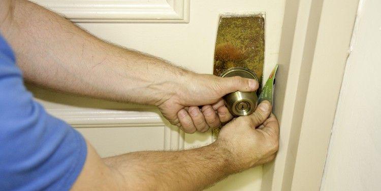 How To Open A Locked Door Without The Key Popular Mechanics Bedroom Doors Doors Door Locks