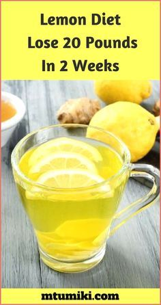 Lemon Diet: Lose 20 Pounds Under 2 Weeks! - DIY He