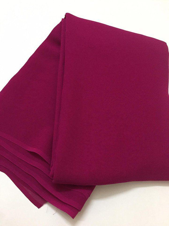 Pure silk crepe fabric