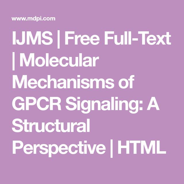 ijms free full text molecular