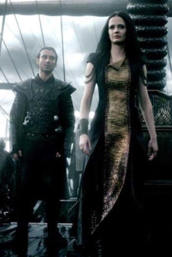 300 rise of an empire artemisia | Green costumes, Eva ...300 Rise Of An Empire Eva Green Dress
