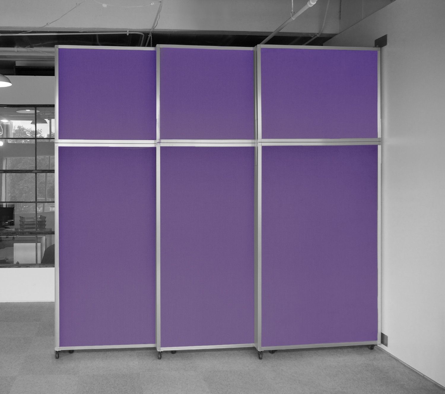 Wall mounted retractable room divider office pinterest divider
