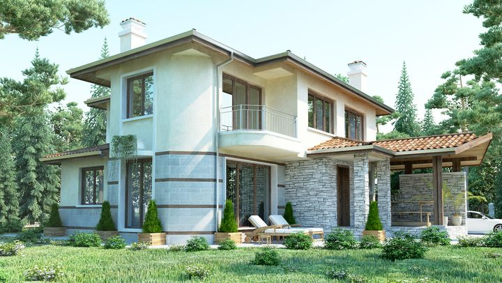 Ready-made house plans - ISPDD   House plans, House, House ...