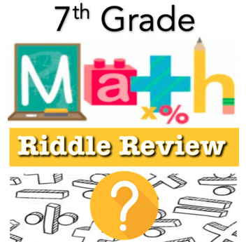RIDDLE REVIEWS ALL of 7th Grade Math! in 2020 7th