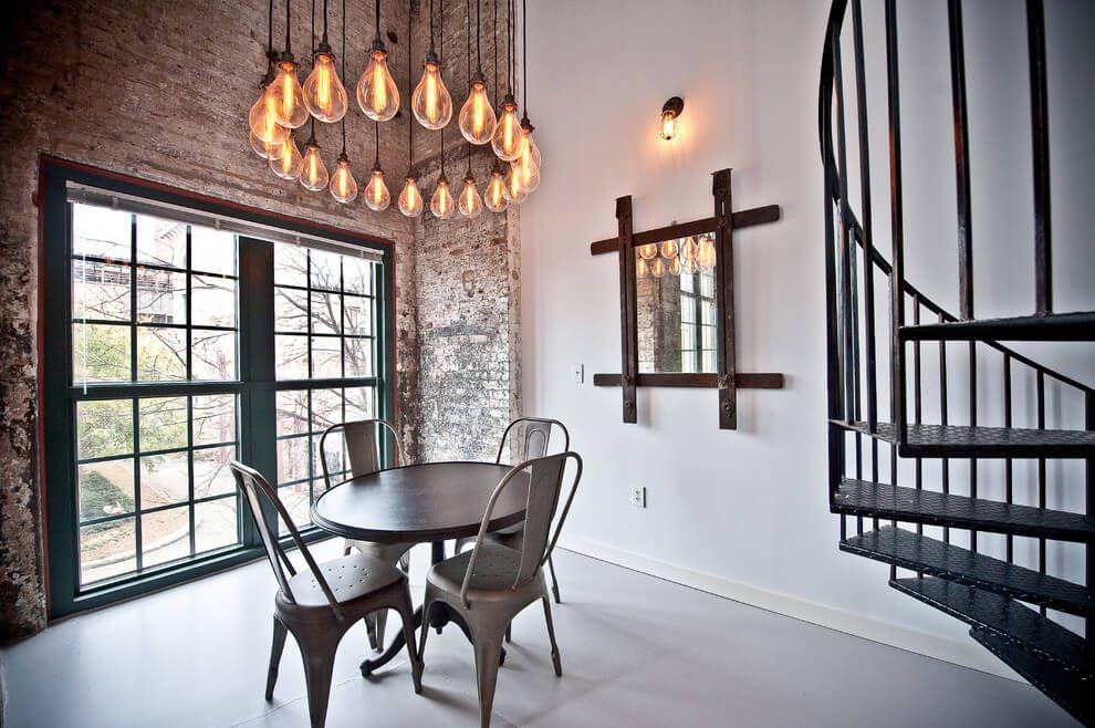 Loft in atlanta by heirloom design build homeadore interior