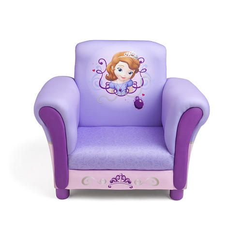Disney Sofia The First Upholstered Chair Delta Toys R Us