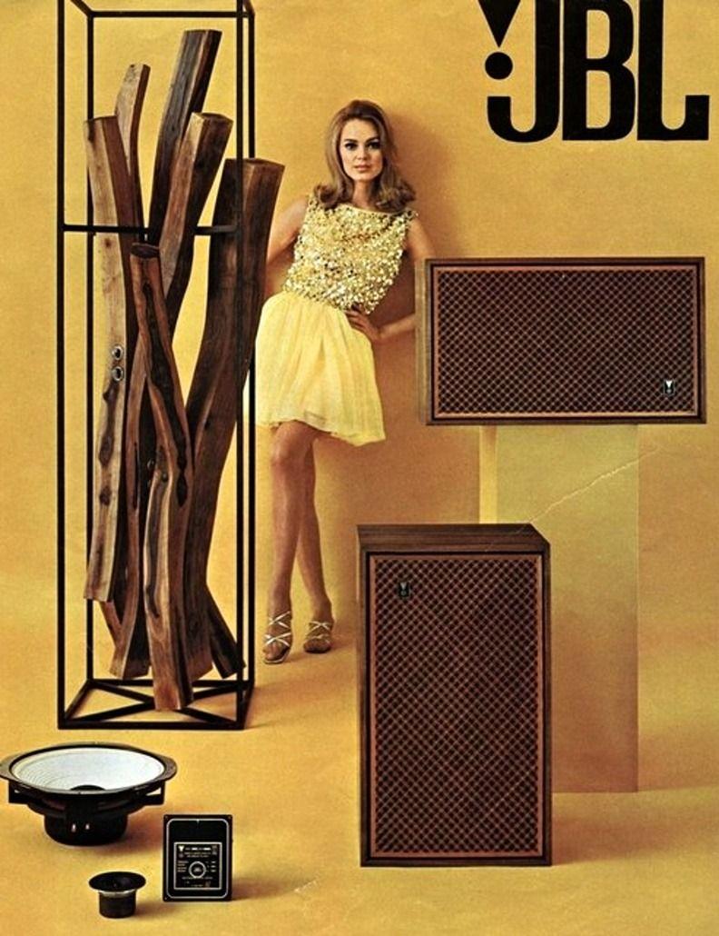 JBL speakers, 1967 | Vintage Record Advertising ...