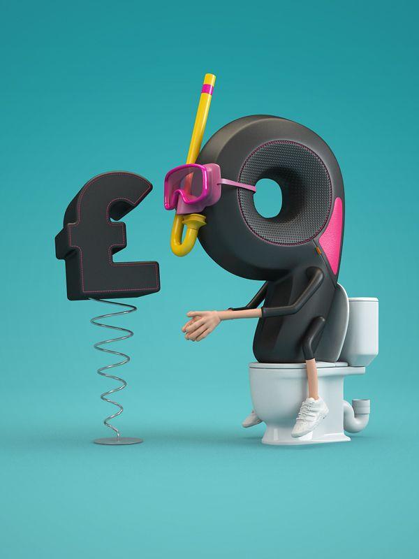 Ones that got away – Proyectos 3D no publicados de Chris Labrooy