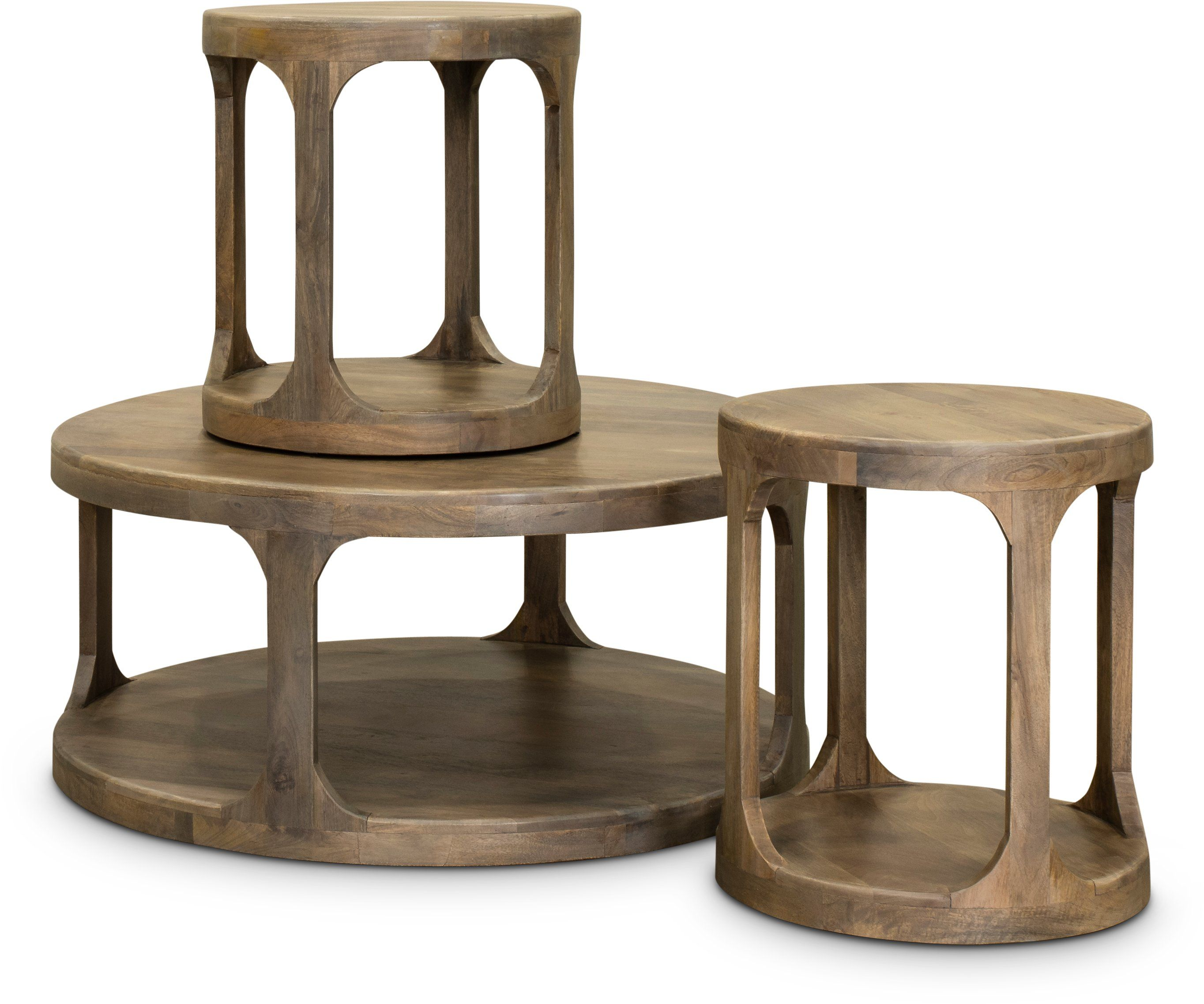 Mist Ash Round End Table Mason Round Coffee Table Coffee Table Rc Willey Furniture [ 2274 x 2728 Pixel ]