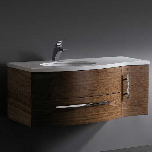 Captivating A Collection Of Bathroom Vanities With Curved Fronts